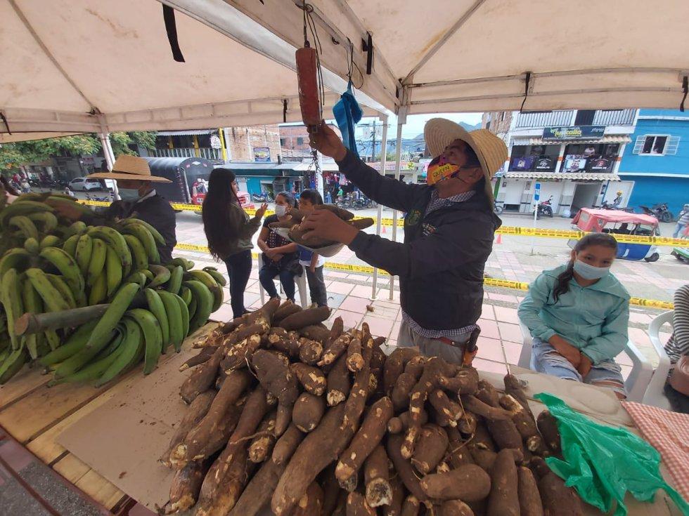 Caracol Radio recorrió el municipio tolimense. Sus campesinos ofrecen productos para salir de la crisis provocada por la COVID-19.