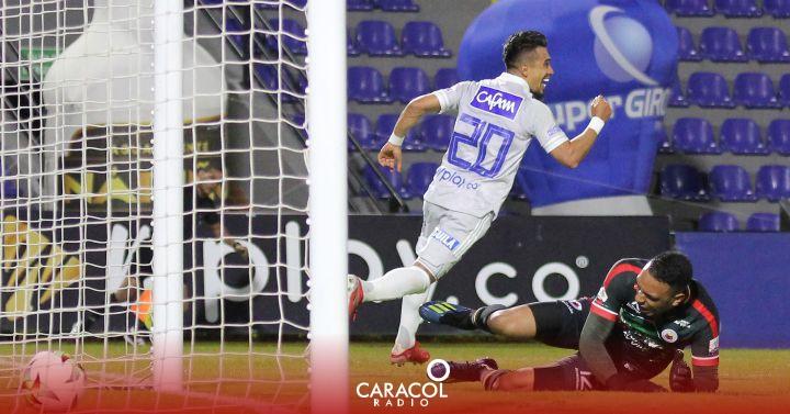 Millonarios: El impresionante promedio de gol de Fernando Uribe con Millonarios   Deportes    Caracol Radio