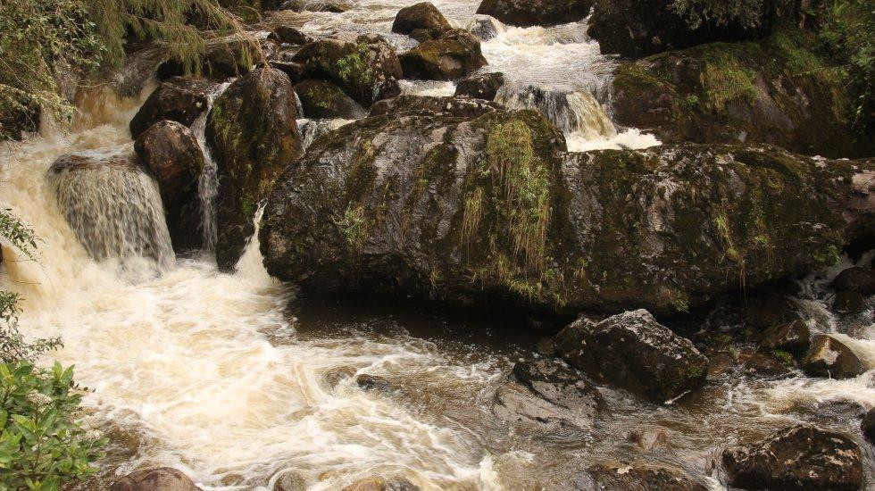 El agua que resguarda Sumapaz surte a algunos habitantes del sur de Bogotá. La Empresa de Acueducto utiliza este recurso hídrico en el embalse de La Regadera