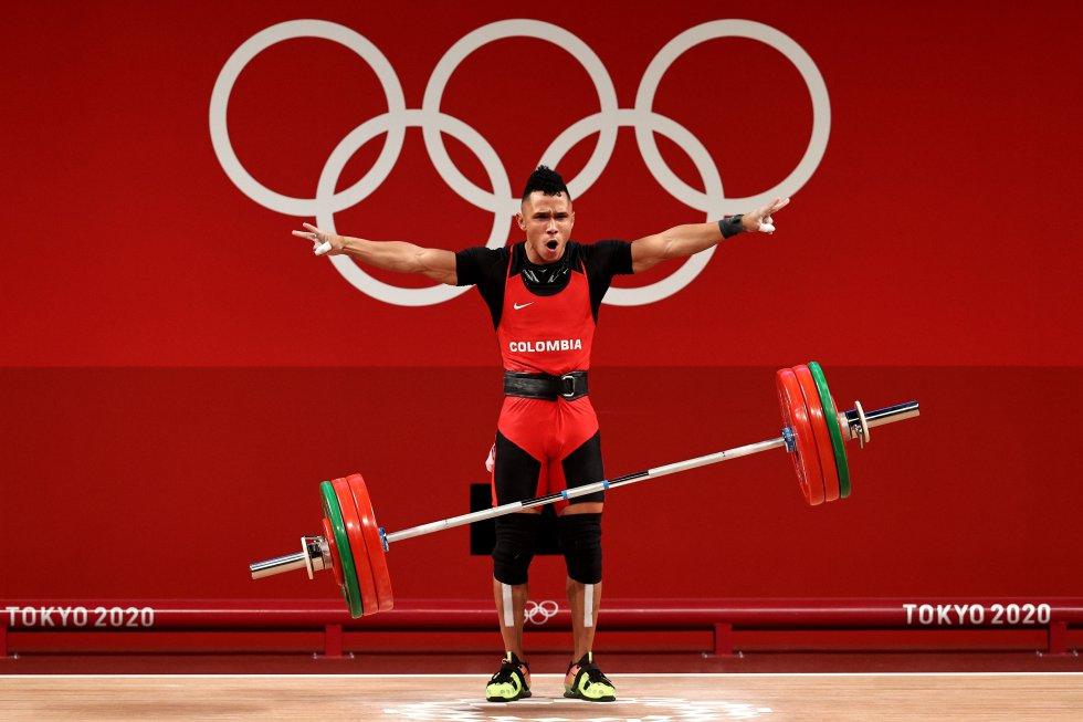 Luis Javier Mosquera, medalla de plata en Tokio 2020