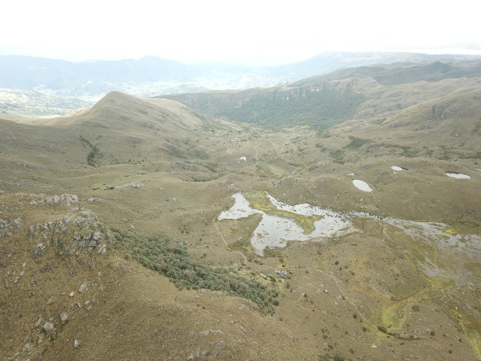 Lo más alto de las montañas de Guantiva-La Rusia esconden varios de sus tesoros: lagunas sagradas, valles de frailejones y vegetación paramuna