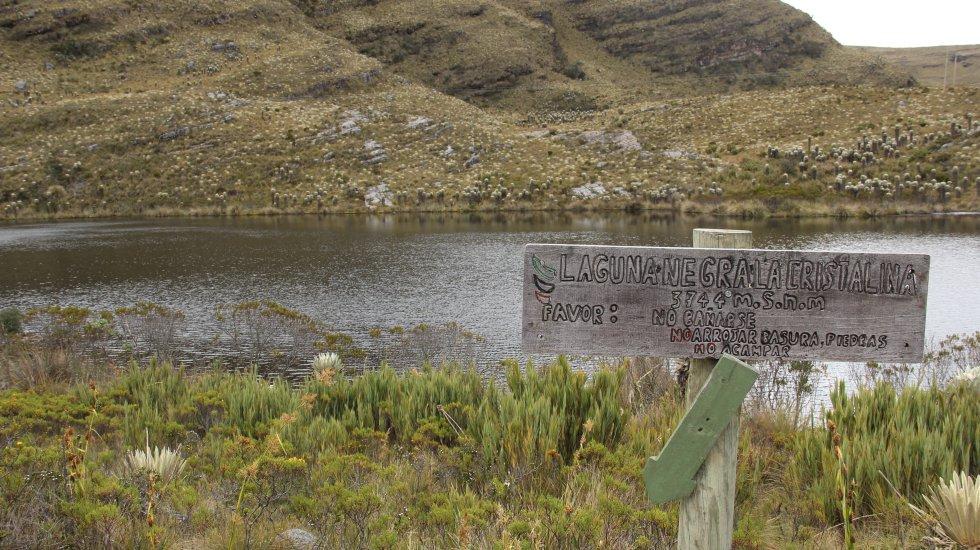 La laguna Negra es uno de los sitios más visitados por los amantes de los páramos y la naturaleza en Boyacá