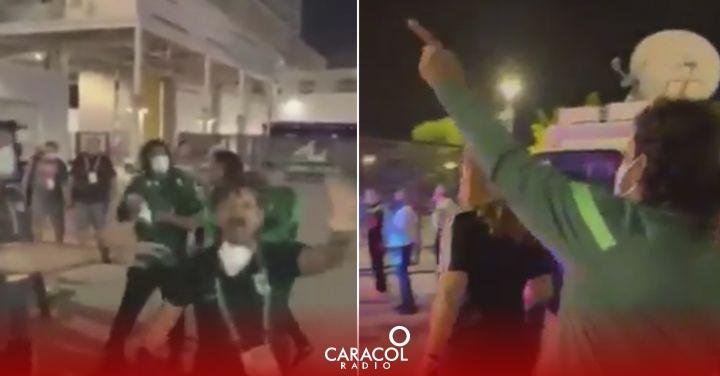 Atletico Nacional: Las versiones del enfrentamiento entre Higuita e hinchas de Millonarios | Deportes  | Caracol Radio
