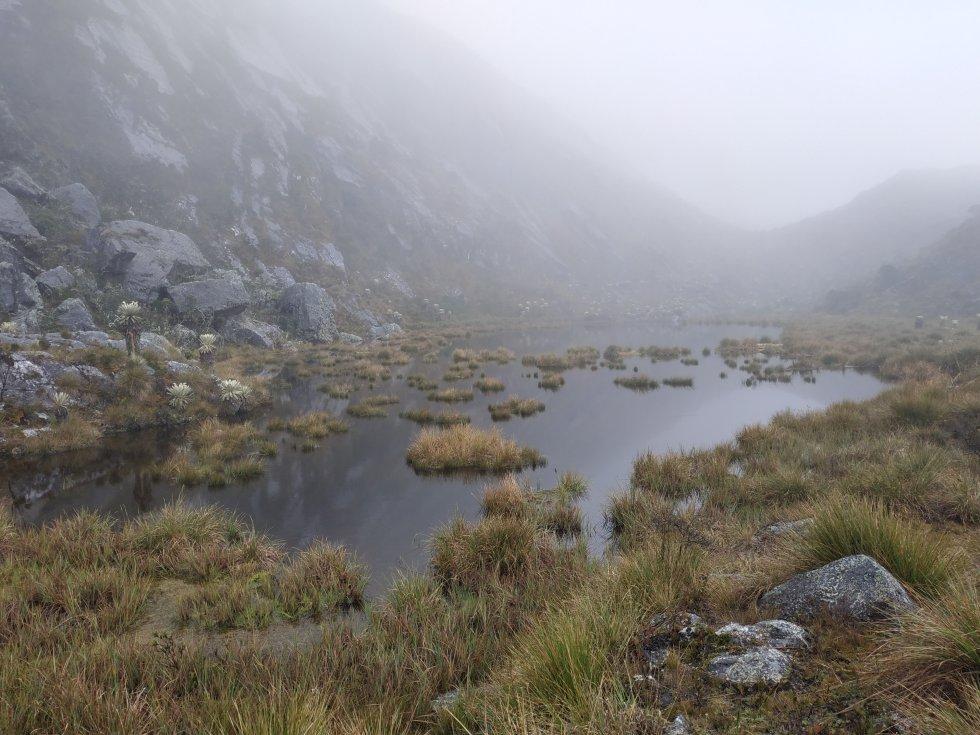 Las lagunas del Cornal fueron sitios sagrados para los indígenas chitareros, donde realizaban pagamentos a la madre Tierra y al agua.