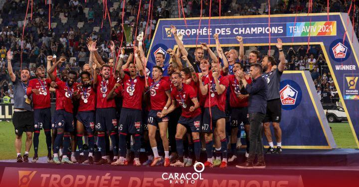 Supercopa de Francia: Lille se proclamó supercampeón de Francia y le quitó la corona al PSG   Deportes    Caracol Radio