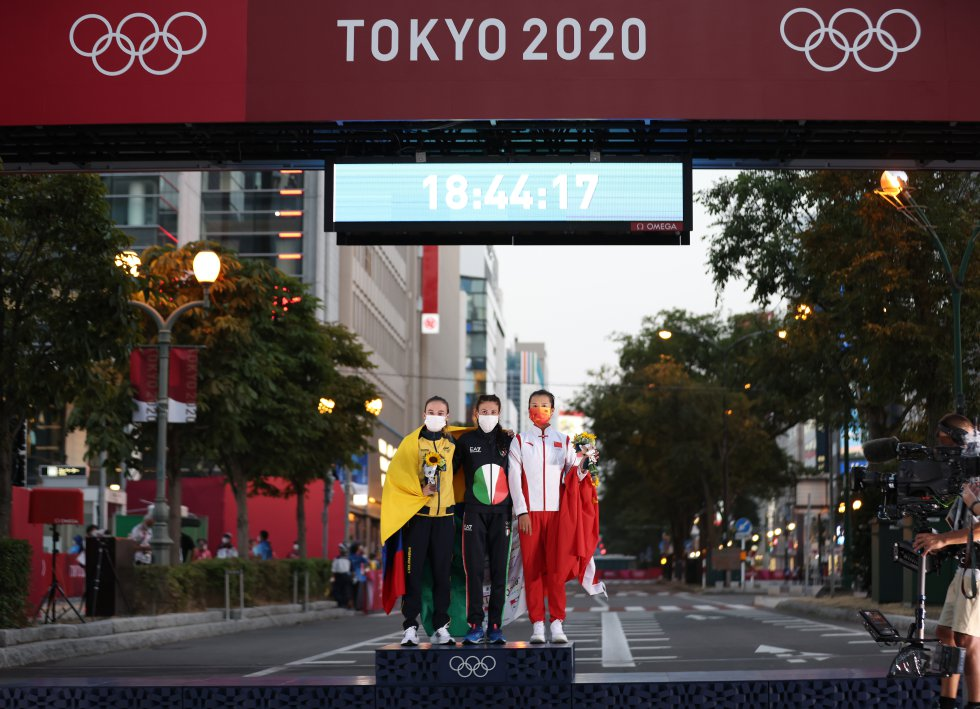 Lorena Arenas en los Juegos Olímpicos de Tokio 2020