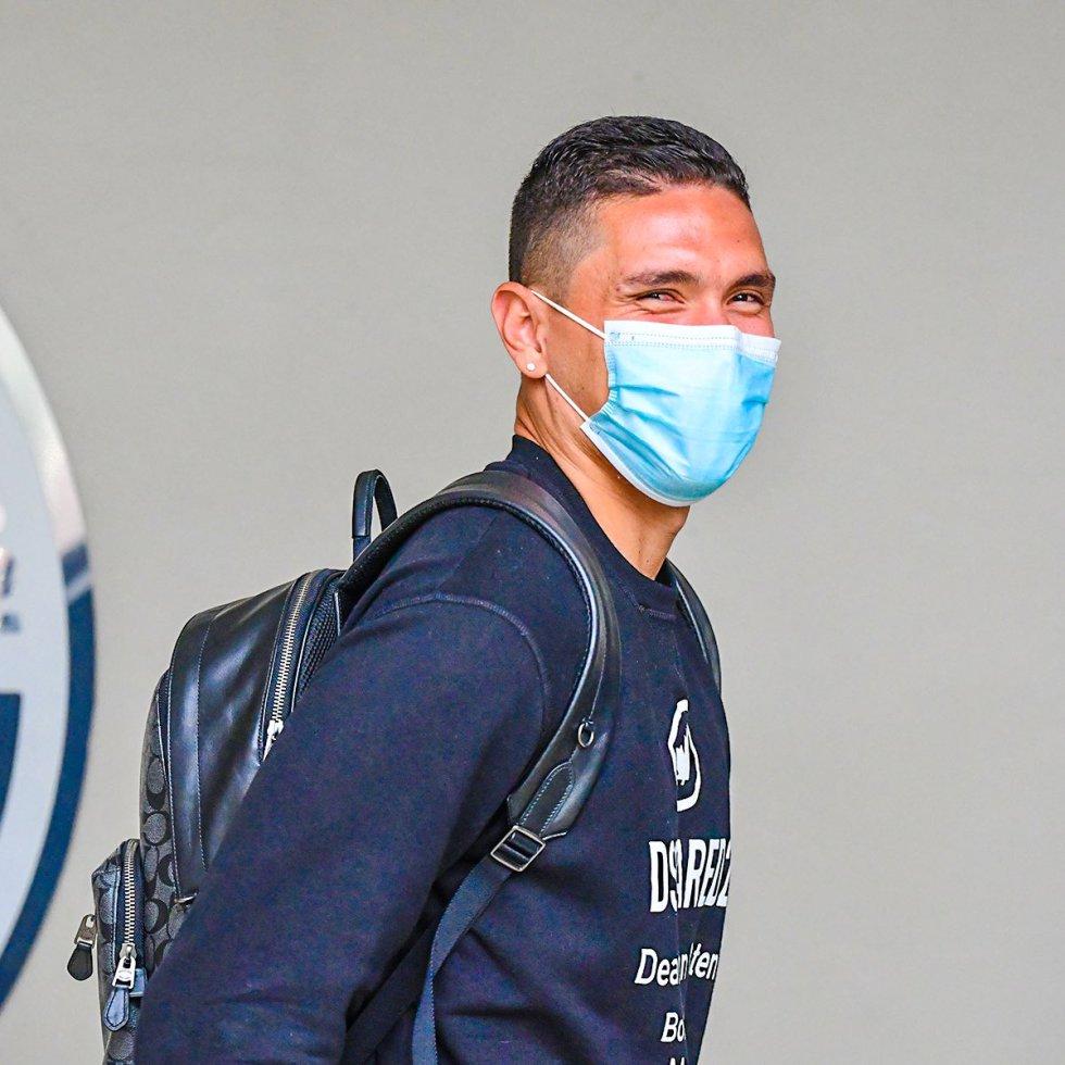 Aldair Quintana, portero de Atlético Nacional.