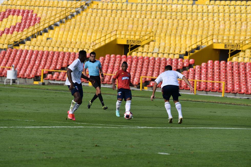 Tercer día de morfociclo de la Selección Colombia en 2021