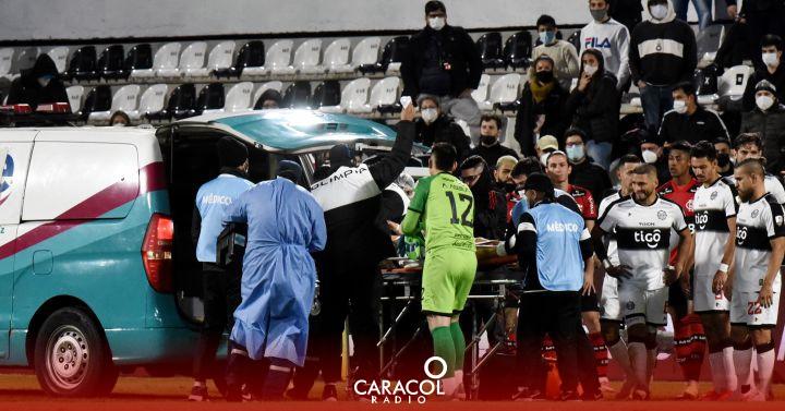 Victor salazar: Susto en la Copa Libertadores por convulsión de un jugador | Deportes  | Caracol Radio
