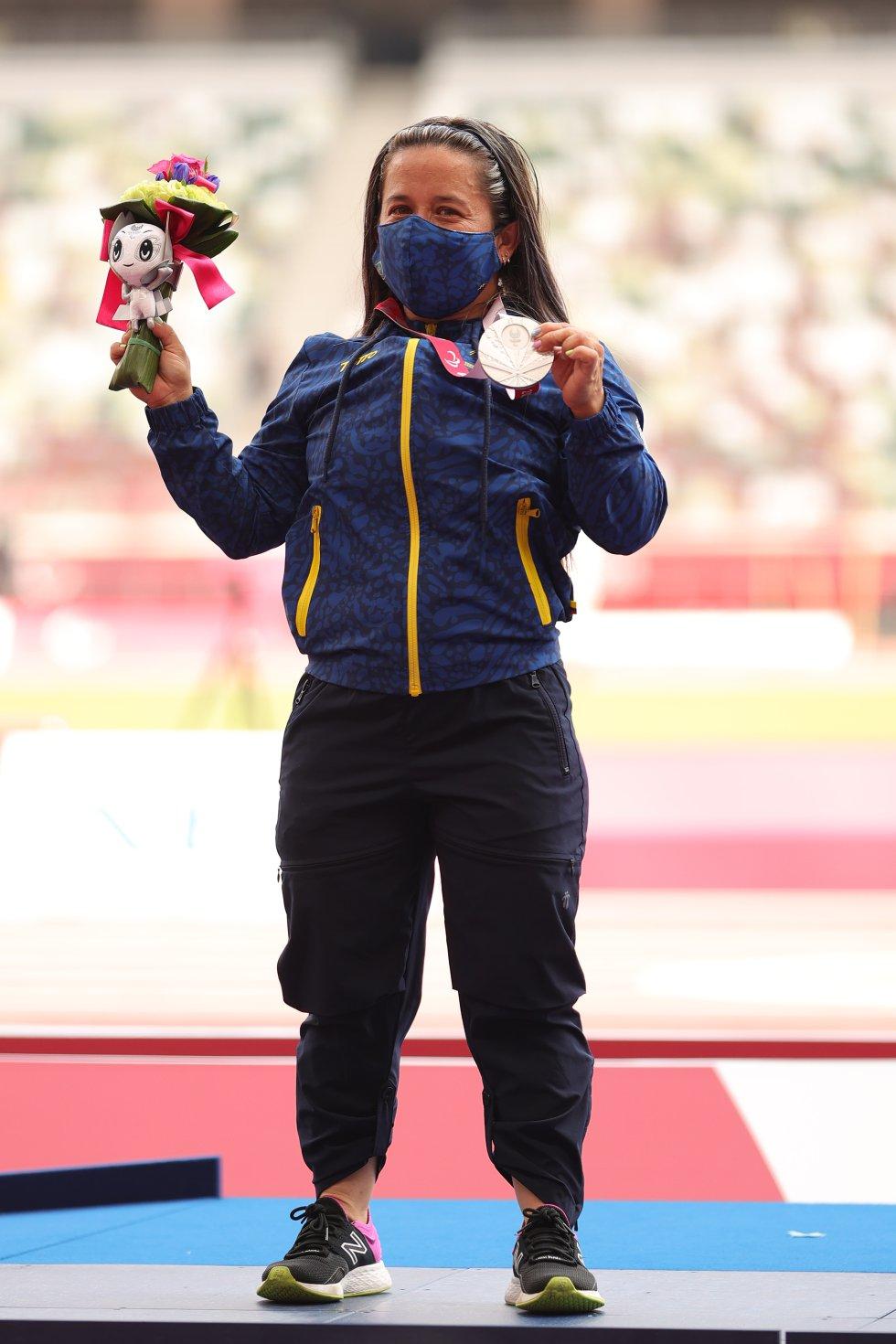 Mayerli Buitrago en los Juegos Paralímpicos de Tokio