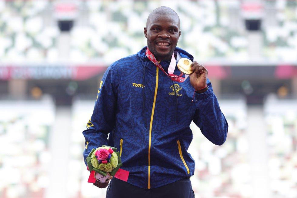 José Gregorio Lemos en los Juegos Paralímpicos de Tokio