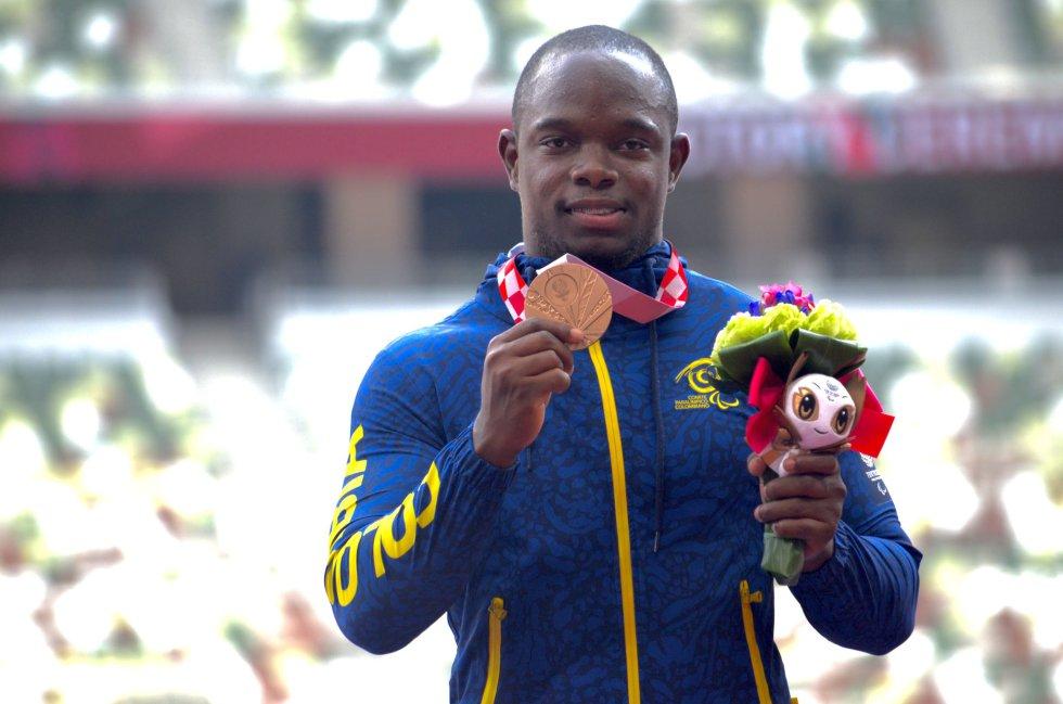 Luis Lucumí en los Juegos Paralímpicos de Tokio