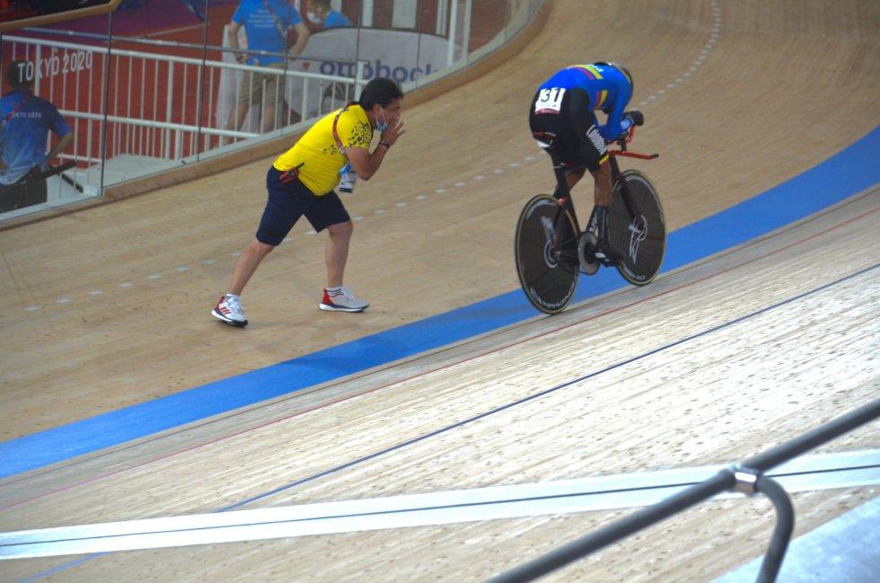 Diego Dueñas en los Juegos Paralímpicos de Tokio