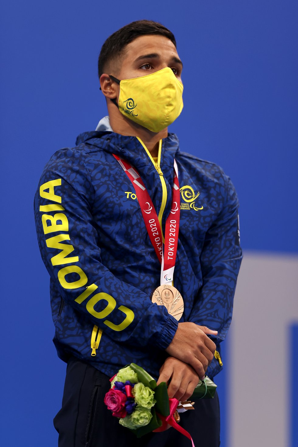 Carlos Daniel Serrano en los Juegos Paralímpicos de Tokio