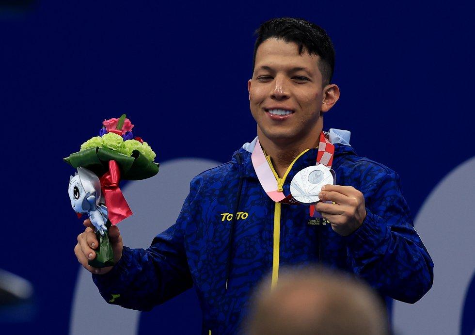 Nelson Crispín en los Juegos Olímpicos de Tokio