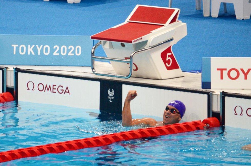 Moisés Fuentes en los Juegos Olímpicos de Tokio