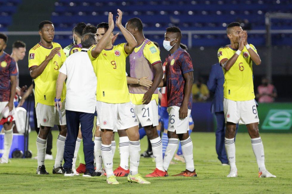 Fotos Paraguay Colombia: En imágenes: Paraguay y Colombia divieron honores en Asunción