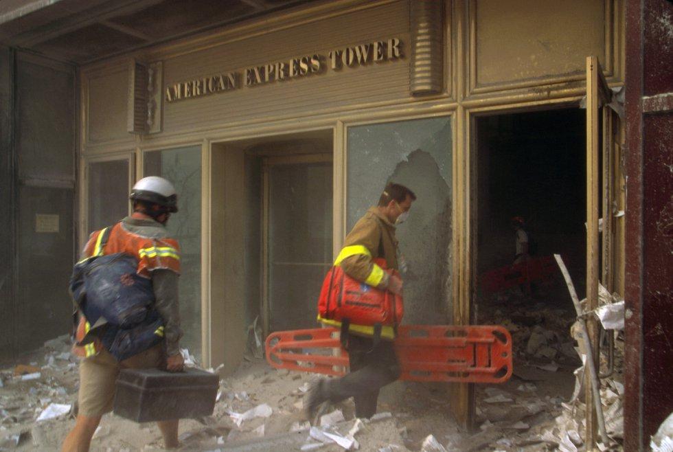 Ataque a las torres gemelas: Galería: El día en que la historia de Estados Unidos cambió para siempre
