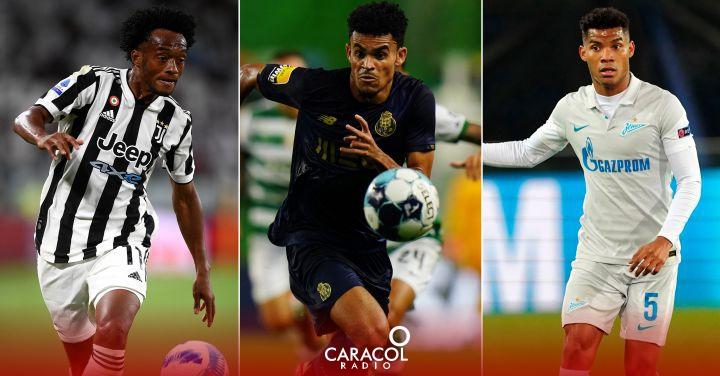 Champions League: Así será la participación de los colombianos en el inicio de la Champions | Deportes  | Caracol Radio