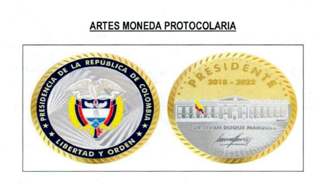 Gobierno firmó contrato para adquirir monedas de bronce recubiertas en oro  | Política | Caracol Radio