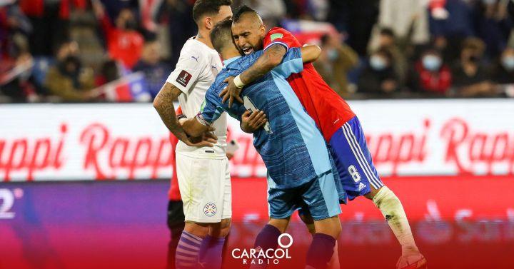 Chile no se rinde y alejó a Paraguay del quinto lugar de Colombia