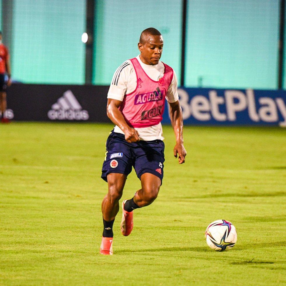 Yerson Candelo, extremo de la Selección Colombia.