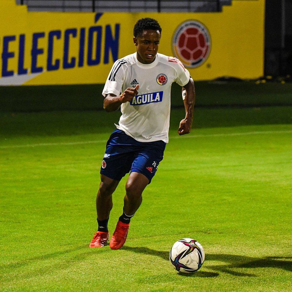 Luis Sinisterra, extremo de la Selección Colombia.