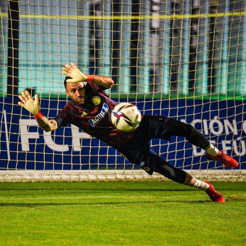 David Ospina, portero de la Selección Colombia.